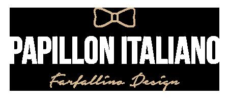 Papillon HandMade Farfallino Design Papillon Italiano Made in Italy Bowtie Moda Uomo Donna Bambino Style