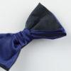 Papillon Blu Navy due tonalità - Papillon Italiano handmade - made in italy - moda uomo - shop online - fatto a mano 0081