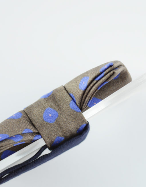 Papillon Floreale con Plexiglass - Papillon Italiano handmade - made in italy - moda uomo - shop online - fatto a mano - Papillon in Seta 0083