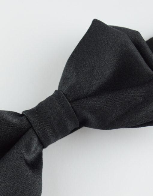 Papillon Nero Classico - Papillon Italiano handmade - made in italy - moda uomo - shop online - fatto a mano 0080