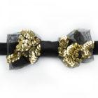 Papillon tessuto Vintage tulle e paillettes - Papillon Italiano handmade - made in italy - moda uomo - shop online - fatto a mano - accessorio uomo 0090